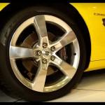 5 Spokes Rim of the Camaro