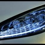 Hyundai Concept Car Front Light Side View