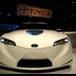 Toyota Hybrid Sports FT-HS Front View