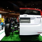 Honda Hybrid Insight's Inside