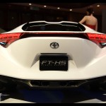 Toyota Hybrid Sports FT-HS Rear View